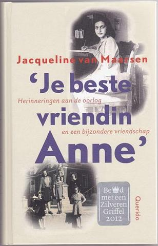 Citaten Uit Dagboek Anne Frank : Jacqueline van maarsen officiële website